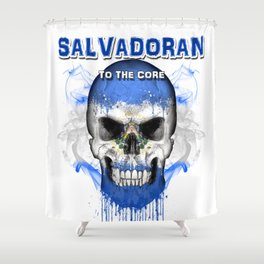 To The Core Collection: El Salvador Shower Curtain