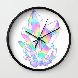 Watercolor Angel Aura Quartz Wall Clock