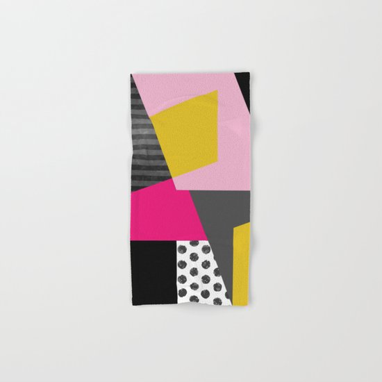 Geometric#13 Hand & Bath Towel