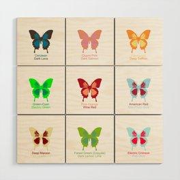 Butterflies 9 Wood Wall Art