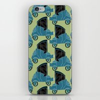 cars iPhone & iPod Skins featuring Cars by Cliodhna Ztoical