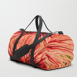 Strawberry Firethorn Quad II by Chris Sparks Duffle Bag