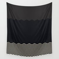 chevron Wall Tapestries featuring Chevron by Georgiana Paraschiv