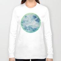 splash Long Sleeve T-shirts featuring Splash by Leah Flores