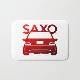 Citroen Saxo - classic red - Bath Mat