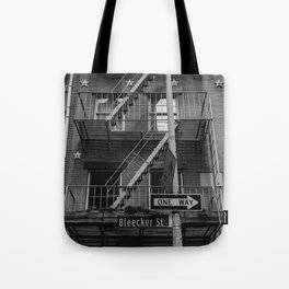 Bleecker Street II Tote Bag