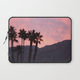 Palm Springs, California, pink, cactus, desert, desert photography, photography Laptop Sleeve