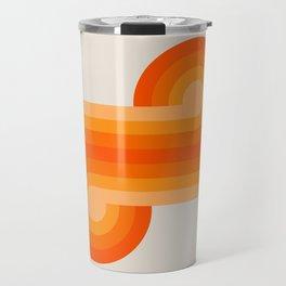 Creamsicle Knots Travel Mug