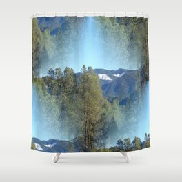 In the mountains... Shower Curtain