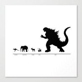 Animals of the World Canvas Print