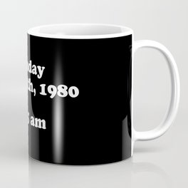 Sunday May 11th 1980 Coffee Mug