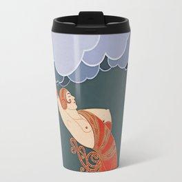 """Art Deco Illustration """"The Dancer"""" by Erté Travel Mug"""