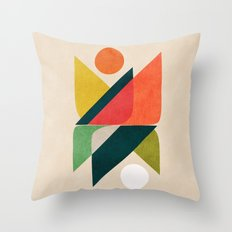 Reflection (of time and space) Throw Pillow