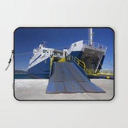 Ionian ferry Ramp Laptop Sleeve
