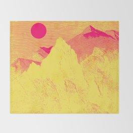 Hast thou no voice, O Peak Throw Blanket