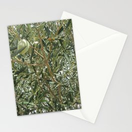 Olive Tree Fall Autumn Patterns Stationery Cards