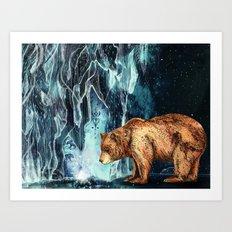 BearCave Art Print