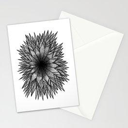 Pointillism Star Stationery Cards