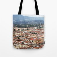florence Tote Bags featuring Florence by Anya Kubilus