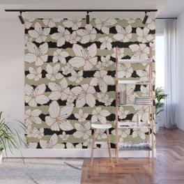Floral Stripe 12 Wall Mural