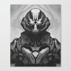 Crab suit Canvas Print