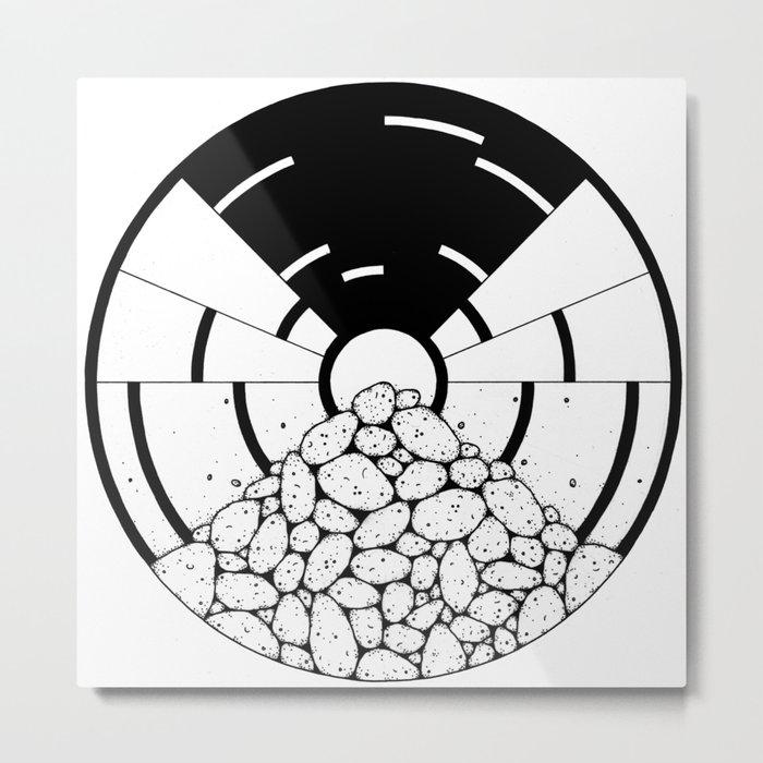 circle_ Metal Print