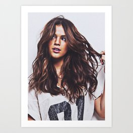 Bruna Marquezine  braz Art Print