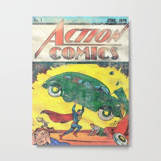 Superman Nº1 Metal Print