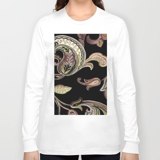 paisley Long Sleeve T-shirt