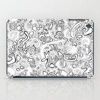acid iPad Cases featuring Acid by Danielle Quackenbush