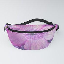 Pink Flower Fanny Pack