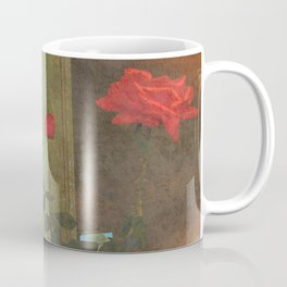 Serenity Prayer Rose and Door Coffee Mug