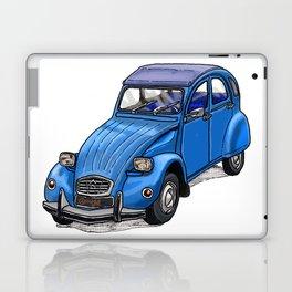 Blue 2CV Laptop & iPad Skin