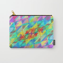 MULTICOLORED HAPPY CHAOS Carry-All Pouch