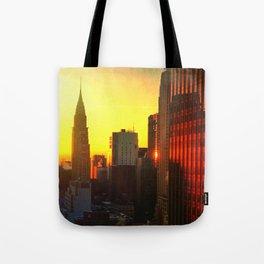 Chrysler Sunrise Tote Bag