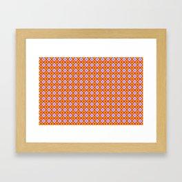 Diamond Tiles Framed Art Print