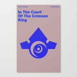 In The Court of The Crimson King Canvas Print