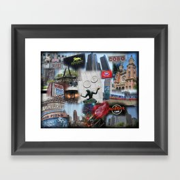 Detroit MI Framed Art Print