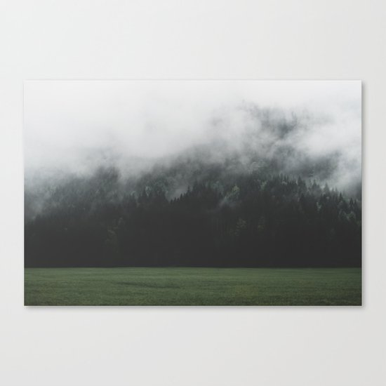 Spectral Forest - Landscape Photography Canvas Print