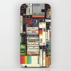 Cassettes, VHS & Atari iPhone & iPod Skin
