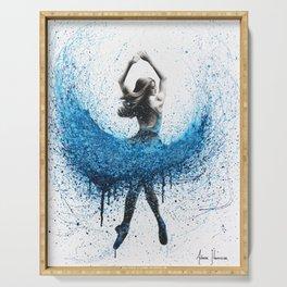 Clair De Lune Ballerina Serving Tray