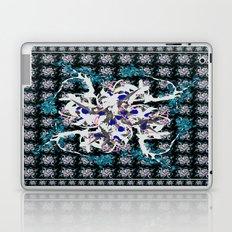 Oriental Flower Laptop & iPad Skin