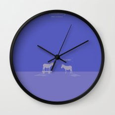 Crazy old Mule / Mule of Troy Wall Clock
