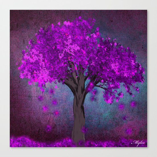 TREE OF PINK Canvas Print