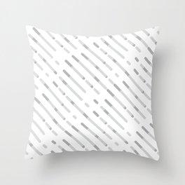 Gray Abstract geometric background #society6 #decor #buyart #artprint Throw Pillow
