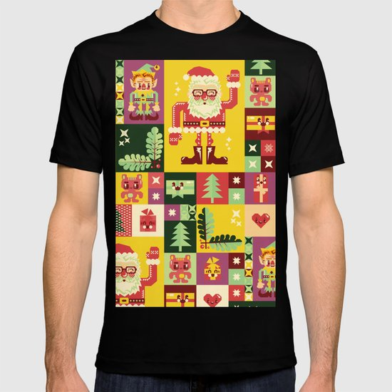 Christmas Geometric Pattern No. 1 T-shirt
