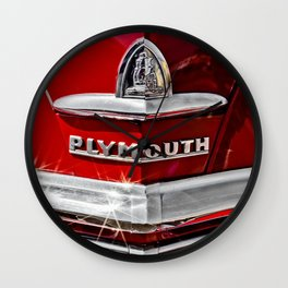 Plymouth Pride Wall Clock