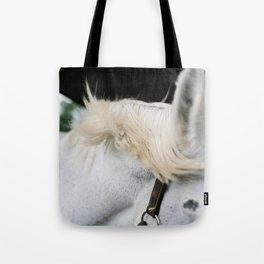 Windblown Horse's Mane Tote Bag