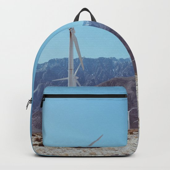 Palm Springs Windmills XI Backpack