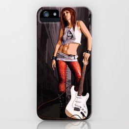 Mush - Grunge Rocker iPhone Case